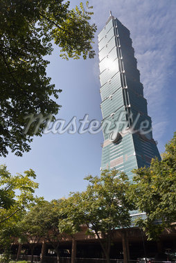 Taipei 101, Xinyi District, Taipei, Taiwan Stock Photo - Premium Rights-Managed, Artist: Tomasz Rossa, Code: 700-05781049