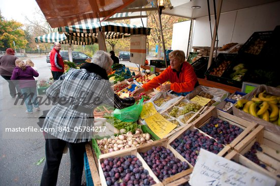 Market in Zweisel, Bavaria, Germany, Europe Stock Photo - Direito Controlado, Artist: Robert Harding Images, Code: 841-05784217
