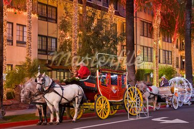 Festival of Lights at the historic Mission Inn, Riverside City, California, United States of America, North America Stock Photo - Premium Rights-Managed, Artist: Robert Harding Images, Code: 841-05784500