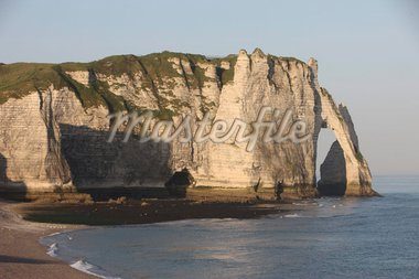 Cliffs at Etretat, Cote d'Albatre, Seine-Maritime, Normandy, France, Europe Stock Photo - Premium Rights-Managed, Artist: Robert Harding Images, Code: 841-05786002