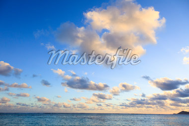 Clouds over Indian Ocean, Anse Source d'Argent, La Digue, Seychelles Stock Photo - Premium Royalty-Free, Artist: F. Lukasseck, Code: 600-05786198