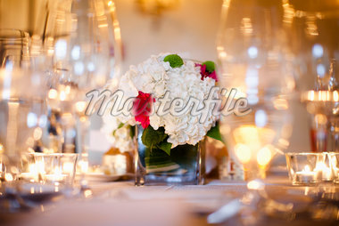Wedding Centrepiece Stock Photo - Premium Rights-Managed, Artist: Ikonica, Code: 700-05786449