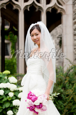 Portrait of Bride Stock Photo - Premium Rights-Managed, Artist: Ikonica, Code: 700-05786625
