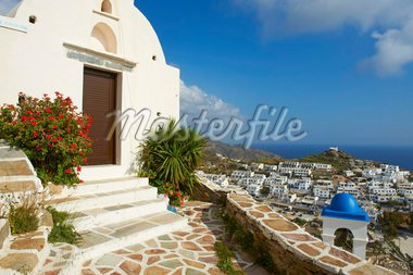 Church, Ios island, Cyclades, Greek Islands, Greece, Europe Stock Photo - Premium Rights-Managed, Artist: Robert Harding Images, Code: 841-05796748