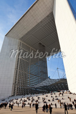 La Grande Arche de la Defense, La Defense, Puteaux, France Stock Photo - Premium Rights-Managed, Artist: Damir Frkovic, Code: 700-05803139