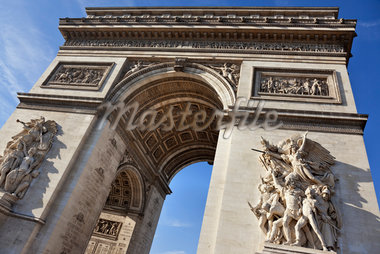 Arc de Triomphe, Paris, France Stock Photo - Premium Rights-Managed, Artist: Damir Frkovic, Code: 700-05803146