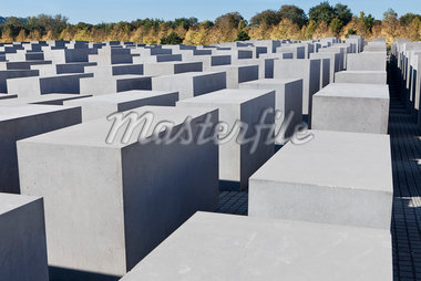 Memorial to the Murdered Jews of Europe, Berlin, Germany Stock Photo - Premium Rights-Managed, Artist: Siephoto, Code: 700-05803417