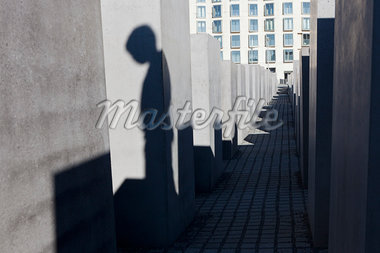 Shadow of Boy at Memorial to the Murdered Jews of Europe, Berlin, Germany Stock Photo - Premium Rights-Managed, Artist: Siephoto, Code: 700-05803418