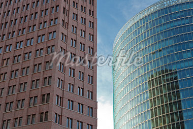 Kollhof-Tower and Sony Center Office Towers, Berlin, Germany Stock Photo - Premium Rights-Managed, Artist: Siephoto, Code: 700-05803425
