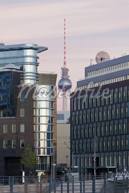 Fernsehturm Tower and Cityscape, Berlin, Germany Stock Photo - Premium Rights-Managed, Artist: Siephoto, Code: 700-05803426