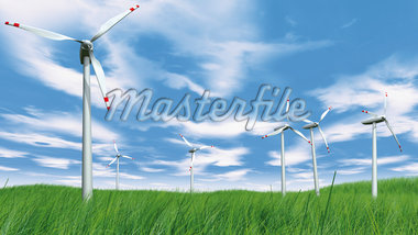 Wind Turbines in Field Stock Photo - Premium Rights-Managed, Artist: Anna Huber, Code: 700-05803433