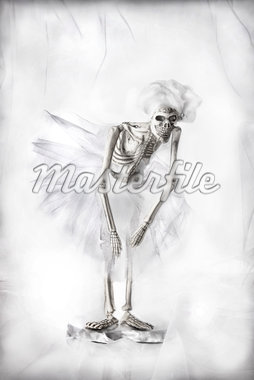 Skeleton Ballet Dancer Stock Photo - Premium Rights-Managed, Artist: Siephoto, Code: 700-05803457