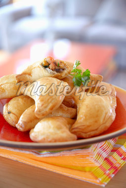 Small shrimp pies Stock Photo - Premium Rights-Managed, Artist: Photocuisine, Code: 825-05813010