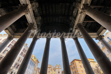 Detail of the Pantheon, Rome, Lazio, Italy Stock Photo - Premium Rights-Managed, Artist: Martin Ruegner, Code: 700-05821967