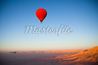 Hot Air Balloon, Luxor, Egypt Stock Photo - Premium Rights-Managed, Artist: Ikonica, Code: 700-05822138