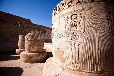 Close-Up of Hierglyphics, Luxor, Egypt Stock Photo - Premium Rights-Managed, Artist: Ikonica, Code: 700-05822140