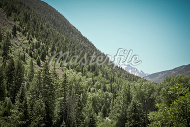 Scenic View of Mountains, Aspen, Colorado, USA Stock Photo - Premium Royalty-Free, Artist: Mark Peter Drolet, Code: 600-05837354