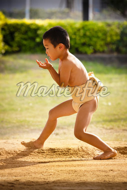 Young Sumo Wrestler, Tokunoshima, Kagoshima Prefecture, Japan Stock Photo - Premium Rights-Managed, Artist: R. Ian Lloyd, Code: 700-05837417