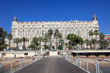 Carlton Hotel, Carlton InterContinental, La Croisette, Cannes, Provence, Cote d'Azur, French Riviera, France, Europe Stock Photo - Premium Rights-Managed, Artist: Robert Harding Images, Code: 841-05846807
