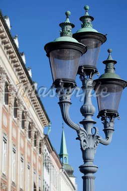 Ornate street lamp, Copenhagen, Denmark, Scandinavia, Europe Stock Photo - Premium Rights-Managed, Artist: Robert Harding Images, Code: 841-05848203