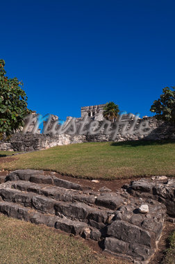El Castillo, Tulum, Riviera Maya, Quintana Roo, Mexico Stock Photo - Premium Rights-Managed, Artist: Alberto Biscaro, Code: 700-05855035