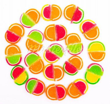 Colorful different Jelly Candy Stock Photo - Royalty-Free, Artist: oxanatravel                   , Code: 400-05878254