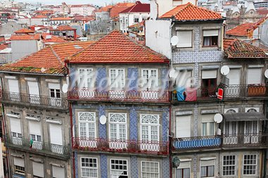 Portugal. Porto. Aerial view over the city Stock Photo - Royalty-Free, Artist: oxanatravel                   , Code: 400-05883924