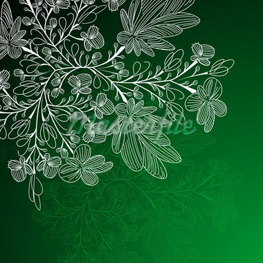 floral background Stock Photo - Royalty-Free, Artist: Sergio77                      , Code: 400-05893502
