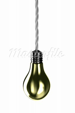 Illustration of a lamp and fixed on it a wire Stock Photo - Royalty-Free, Artist: FotoVika                      , Code: 400-05899414