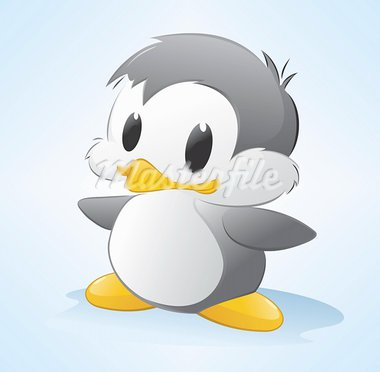 Vector illustration of a cute cartoon penguin. Grouped and layered for easy editing Stock Photo - Royalty-Free, Artist: Mumut                         , Code: 400-05901513