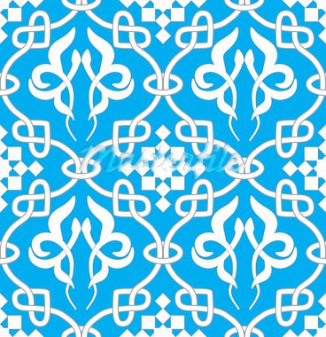 Retro seamless background. Vintage keltik Irish wallpaper. Texture vector illustration. Pattern celtic style. Stock Photo - Royalty-Free, Artist: svetap                        , Code: 400-05901952