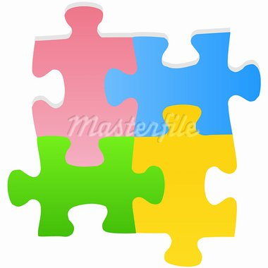 Puzzle Stock Photo - Royalty-Free, Artist: Peggynew                      , Code: 400-05902836