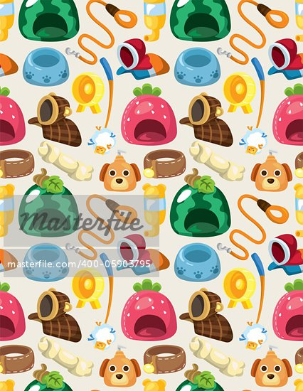 pet tool seamless pattern Stock Photo - Royalty-Free, Artist: notkoo2008                    , Code: 400-05903795