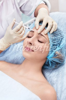 A young girl inject Botox Stock Photo - Royalty-Free, Artist: Deklofenak                    , Code: 400-05907474