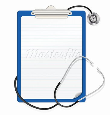 stethoscope on clipboard Stock Photo - Royalty-Free, Artist: Ghen                          , Code: 400-05913764
