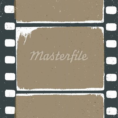 Empty grunge film strip design, may use as a background or overlays. Stock Photo - Royalty-Free, Artist: pashabo                       , Code: 400-05923947