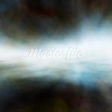 Editable vector background of mist over water made using a gradient mesh Stock Photo - Royalty-Free, Artist: tawng                         , Code: 400-05927625