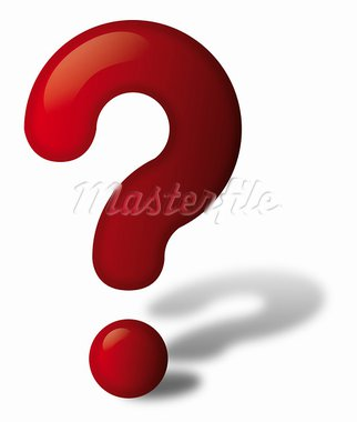 Red question mark with shadow Stock Photo - Royalty-Free, Artist: Petecek                       , Code: 400-05939169