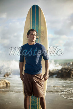 Portrait of Surfer Stock Photo - Premium Rights-Managed, Artist: Peter Barrett, Code: 700-05947676
