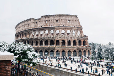Colosseum in Winter, Rome, Lazio, Italy Stock Photo - Premium Rights-Managed, Artist: Siephoto, Code: 700-05948116