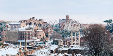 Roman Forum in Winter, Rome, Lazio, Italy Stock Photo - Premium Rights-Managed, Artist: Siephoto, Code: 700-05948118