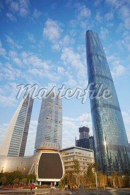 International Finance Centre, Zhujiang New Town, Tianhe, Guangzhou, Guangdong, China, Asia Stock Photo - Premium Rights-Managed, Artist: Robert Harding Images, Code: 841-05962684