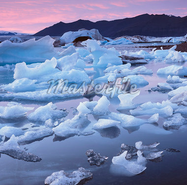 Glaciers floating on arctic waters Stock Photo - Premium Royalty-Freenull, Code: 635-05972830