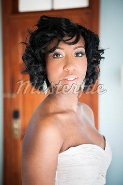 Bride, Negril, Jamaica Stock Photo - Premium Royalty-Free, Artist: Ikonica, Code: 600-05973586
