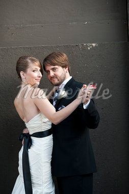 Portrait of Bride and Groom Stock Photo - Premium Rights-Managed, Artist: Ikonica, Code: 700-05973657