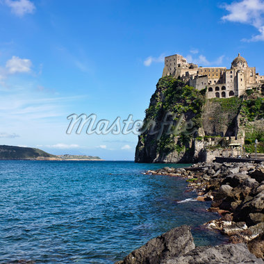 Aragonese Castle, Ischia, Campania, Italy Stock Photo - Premium Rights-Managed, Artist: Siephoto, Code: 700-06009155