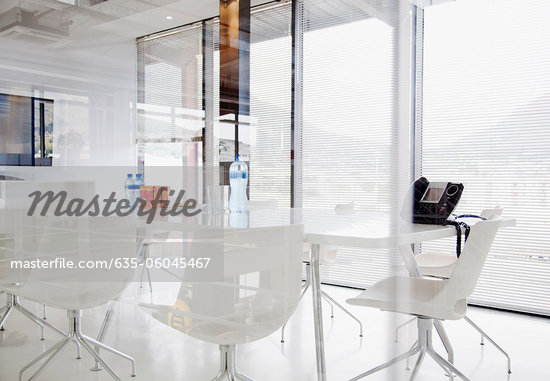 Conference room in modern office - Stock Photos