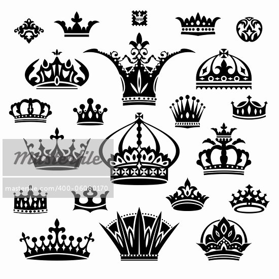 King Crown Outline