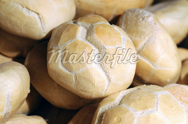 Italian bread rolls in a bakery Stock Photo - Premium Royalty-Freenull, Code: 659-06307822