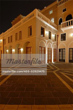 The houses of Italian Riviera style, fisherman wharf, Macao Stock Photo - Budget Royalty-Free, Image code: 400-03929475